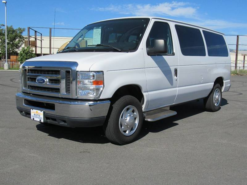 2014 FORD E-SERIES WAGON E 150 XLT 3DR PASSENGER VAN white 2014 ford e150 passenger xlt van 3d v8