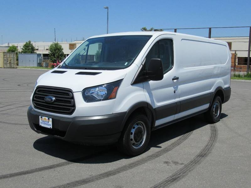 2017 FORD TRANSIT CARGO 150 3DR SWB LOW ROOF CARGO VAN W white 2017 ford transit 150 van low roof