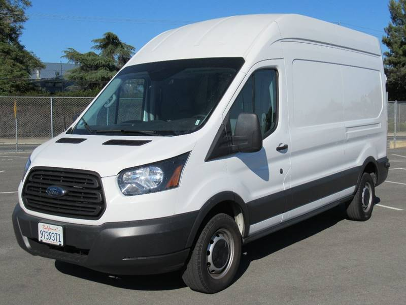 2015 FORD TRANSIT CARGO 250 3DR LWB HIGH ROOF CARGO VAN white 2015 ford transit 250 van high roof
