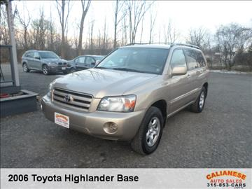 2006 Toyota Highlander for sale in Clinton, NY