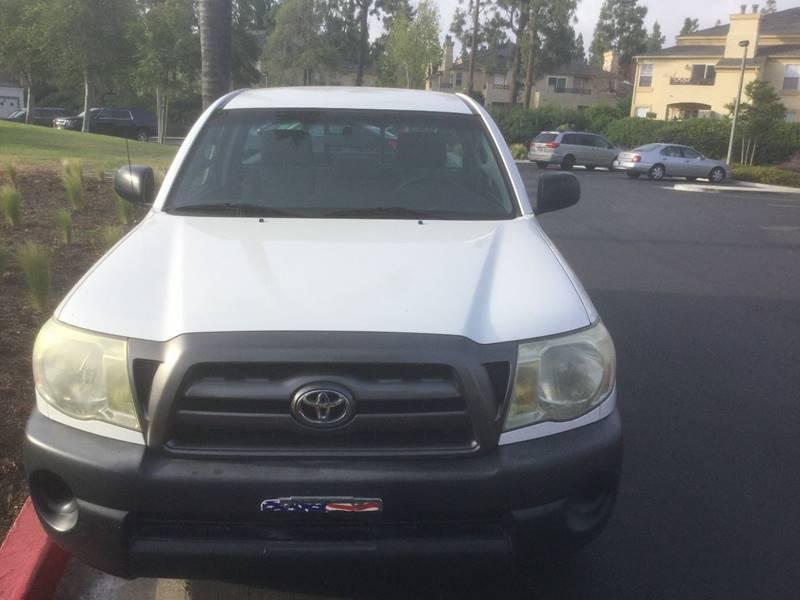 2010 Toyota Tacoma 4x2 2dr Regular Cab 6.1 ft SB 5M - Chula Vista CA