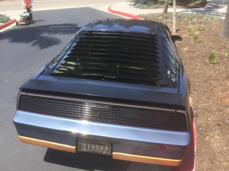 1983 Pontiac Firebird Trans Am 2dr Hatchback - Chula Vista CA