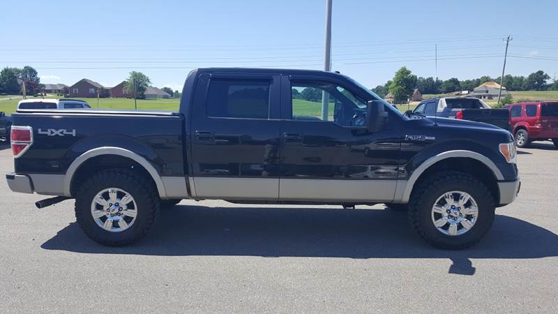 2010 Ford F-150 4x4 Lariat 4dr SuperCrew Styleside 6.5 ft. SB - Troy TN