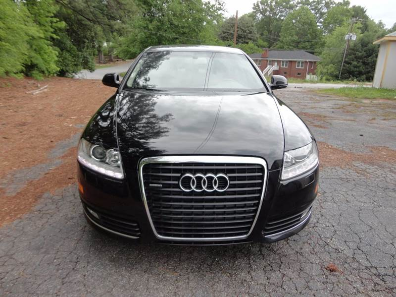 2010 Audi A6 for sale at HAPPY TRAILS AUTO SALES LLC in Taylors SC
