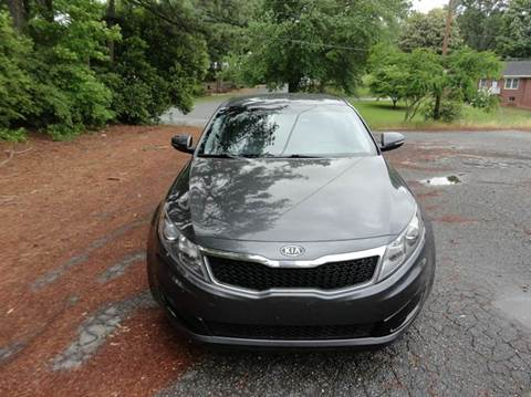 2011 Kia Optima for sale at HAPPY TRAILS AUTO SALES LLC in Taylors SC