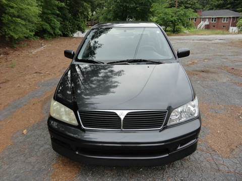 2003 Mitsubishi Lancer for sale at HAPPY TRAILS AUTO SALES LLC in Taylors SC