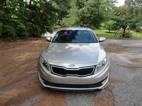 2012 Kia Optima Hybrid for sale at HAPPY TRAILS AUTO SALES LLC in Taylors SC