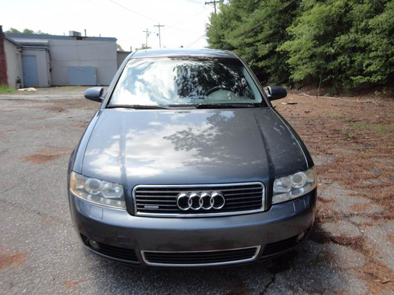 2004 Audi A4 for sale at HAPPY TRAILS AUTO SALES LLC in Taylors SC