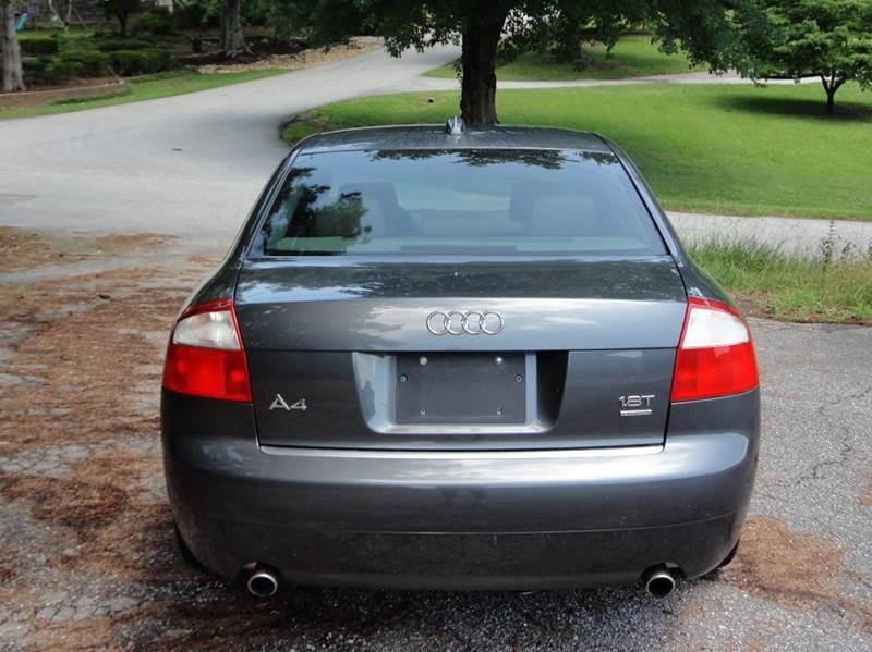 2004 audi a4 awd 1.8t quattro 4dr sedan in taylors sc - happy