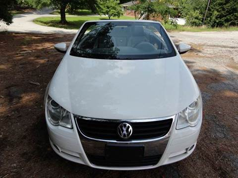2011 Volkswagen Eos for sale at HAPPY TRAILS AUTO SALES LLC in Taylors SC