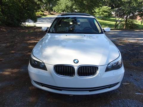 2009 BMW 5 Series for sale at HAPPY TRAILS AUTO SALES LLC in Taylors SC