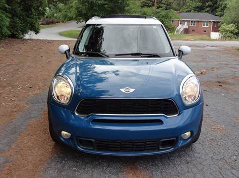 2011 MINI Cooper Countryman for sale at HAPPY TRAILS AUTO SALES LLC in Taylors SC