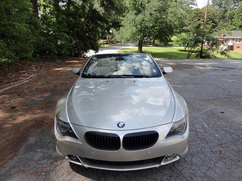2006 BMW 6 Series for sale at HAPPY TRAILS AUTO SALES LLC in Taylors SC