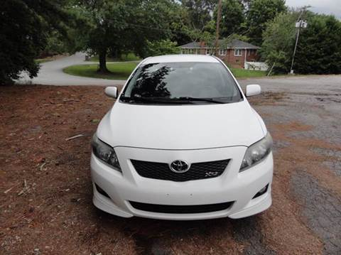 2009 Toyota Corolla for sale at HAPPY TRAILS AUTO SALES LLC in Taylors SC