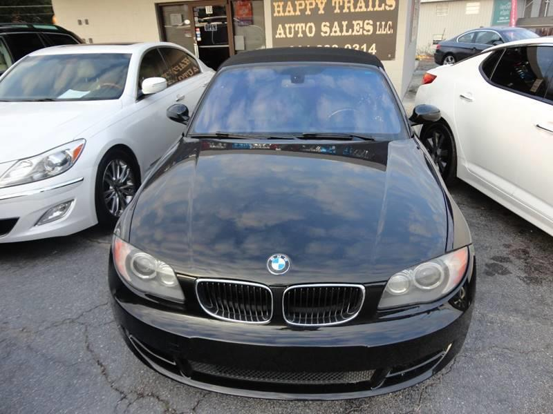 2008 Bmw 1 Series 128i 2dr Convertible In Taylors SC - HAPPY TRAILS ...