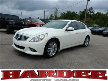 2012 Infiniti G37 Sedan for sale in Conway, SC