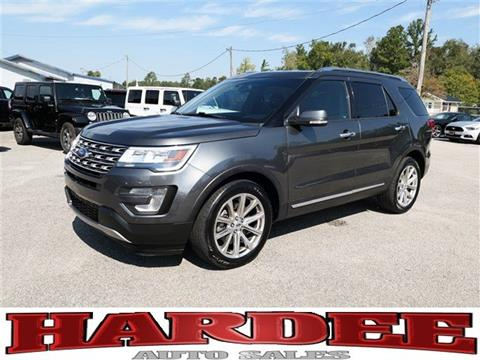 2017 Ford Explorer for sale in Conway, SC