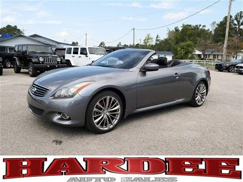 2011 Infiniti G37 Convertible for sale in Conway, SC