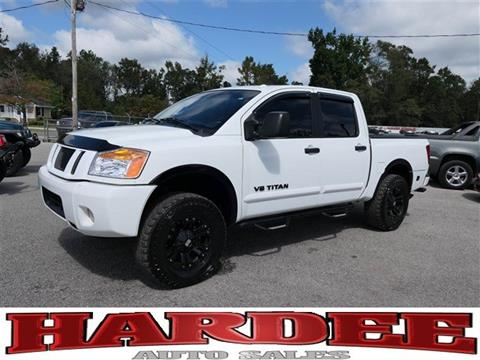 2014 Nissan Titan for sale in Conway, SC