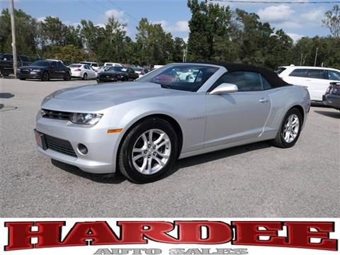 2015 Chevrolet Camaro for sale in Conway, SC