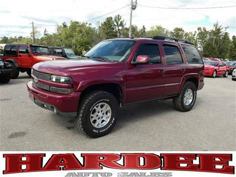 2004 Chevrolet Tahoe for sale in Conway, SC