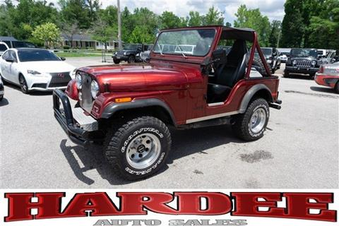 1978 Jeep CJ-5 for sale in Conway, SC