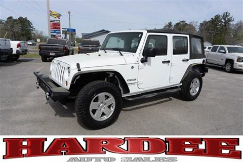 2012 Jeep Wrangler Unlimited for sale in Conway, SC