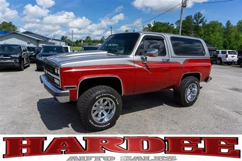 1990 Chevrolet Blazer for sale in Conway, SC