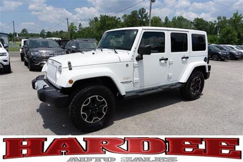 Jeep Wrangler For Sale In Sc >> 2014 Jeep Wrangler Unlimited For Sale In Conway Sc