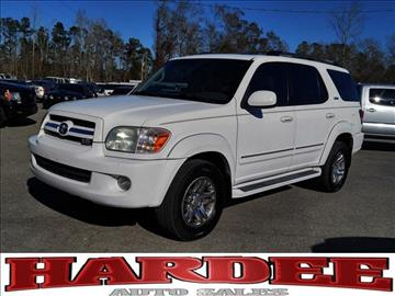 2006 Toyota Sequoia for sale in Conway, SC