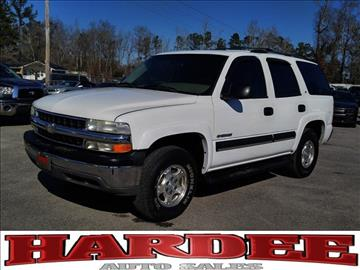 2003 Chevrolet Tahoe for sale in Conway, SC