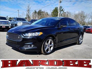 2013 Ford Fusion for sale in Conway, SC