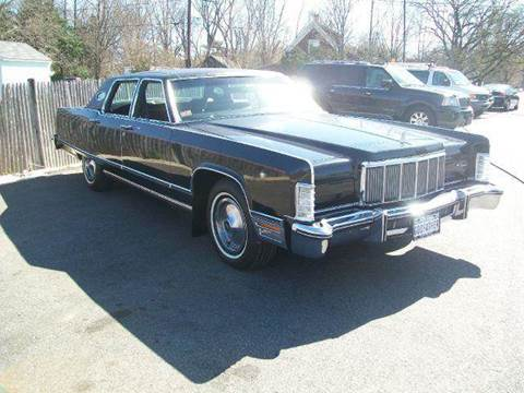 1975 Lincoln Continental for sale at Route 106 Motors in East Bridgewater MA