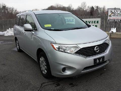2012 Nissan Quest for sale at Route 106 Motors in East Bridgewater MA