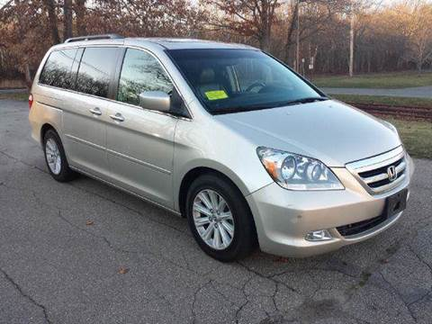 2006 Honda Odyssey for sale at Route 106 Motors in East Bridgewater MA
