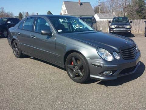 2009 Mercedes-Benz E-Class for sale at Route 106 Motors in East Bridgewater MA