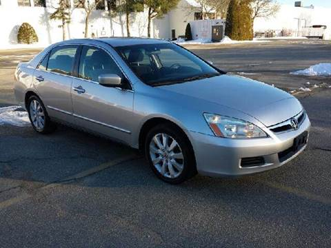 2007 Honda Accord for sale at Route 106 Motors in East Bridgewater MA