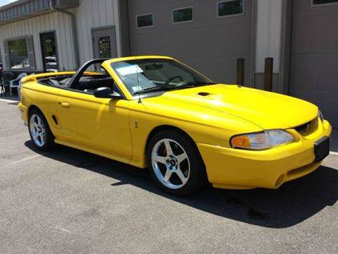 1998 Ford Mustang for sale at Route 106 Motors in East Bridgewater MA
