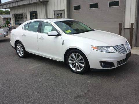 2011 Lincoln MKS for sale at Route 106 Motors in East Bridgewater MA