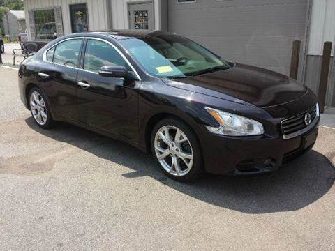 2012 Nissan Maxima for sale at Route 106 Motors in East Bridgewater MA
