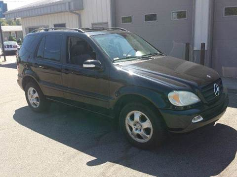 2002 Mercedes-Benz M-Class for sale at Route 106 Motors in East Bridgewater MA