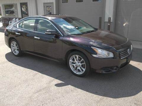 2011 Nissan Maxima for sale at Route 106 Motors in East Bridgewater MA