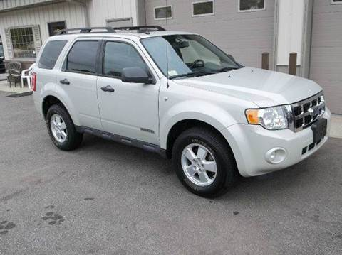 2008 Ford Escape for sale at Route 106 Motors in East Bridgewater MA