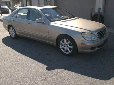 2003 Mercedes-Benz S-Class for sale at Route 106 Motors in East Bridgewater MA