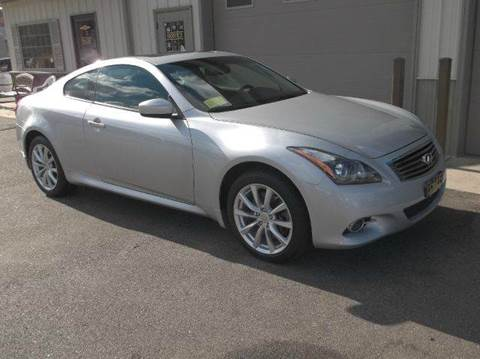 2011 Infiniti G37 Coupe for sale at Route 106 Motors in East Bridgewater MA