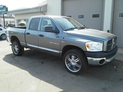 2007 Dodge Ram Pickup 1500 for sale at Route 106 Motors in East Bridgewater MA