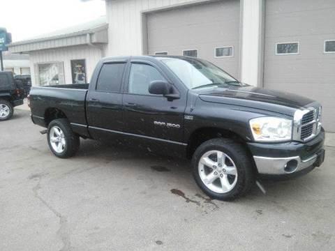 2007 Dodge Ram Pickup 1500 for sale at Route 106 Motors in East Bridgewater MA