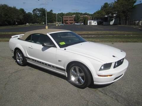 2007 Ford Mustang for sale at Route 106 Motors in East Bridgewater MA