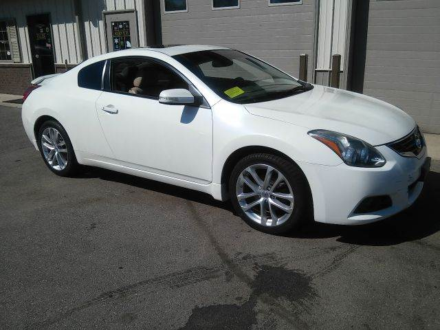 2010 Nissan Altima 35 Sr 2dr Coupe Cvt In East Bridgewater Ma