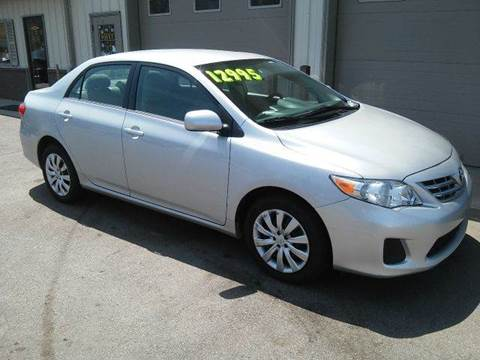 2013 Toyota Corolla for sale at Route 106 Motors in East Bridgewater MA
